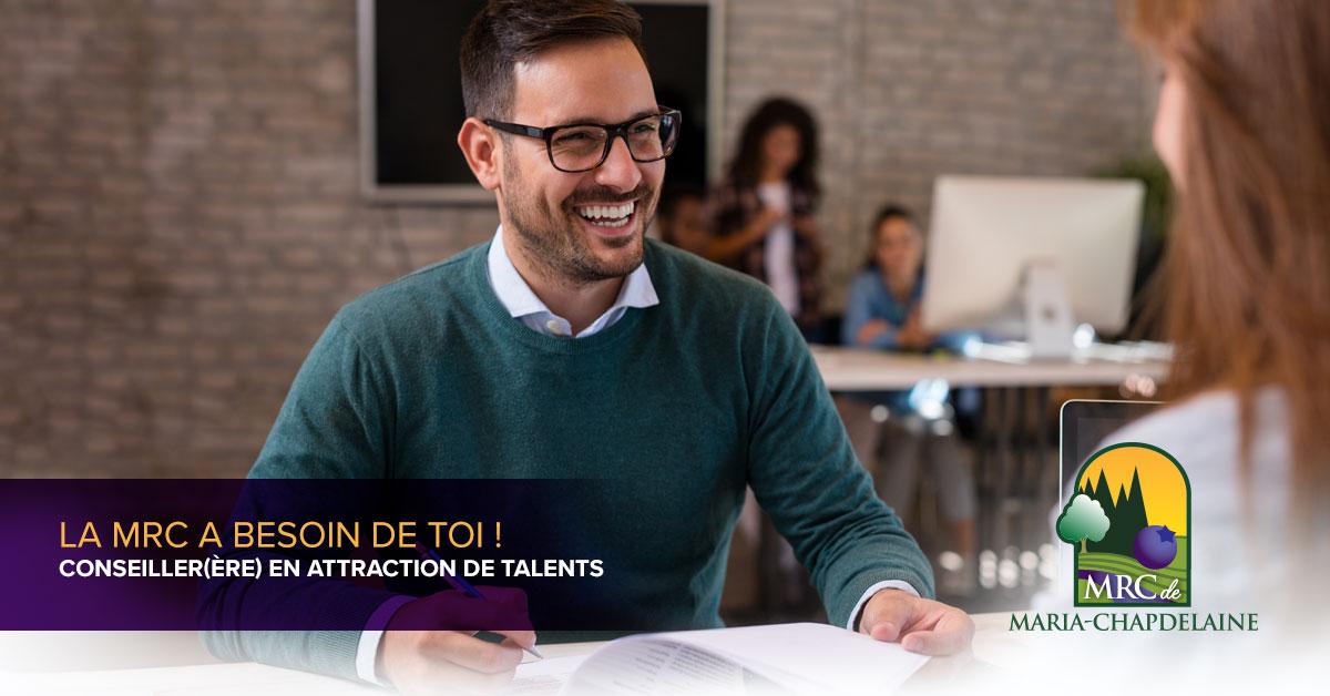 Poste de conseiller(ère) en attraction de talents Actualités À la une Carrière